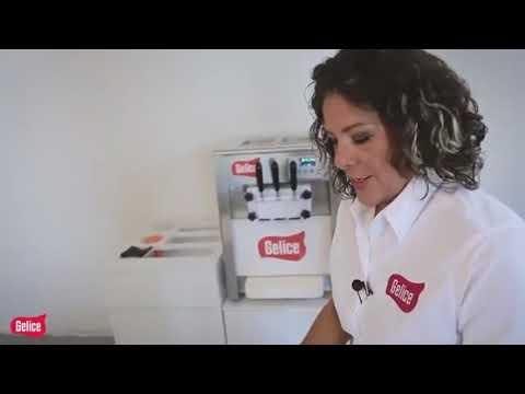 Máquinas para hacer helados suaves - 04 LIMPIEZA DE LA MAQUINA DE HELADO SUAVE GELICE