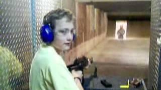 Kid Shooting AK47