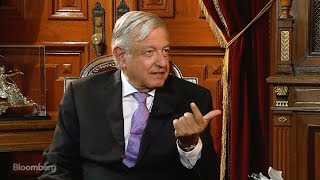 AMLO Would Like Mexico's Central Bank to Cut Rates