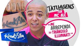"""Tatuagens do MC Alê – """"Não Paguei Nenhuma!"""" (KondZilla)"""