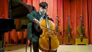 Paul Crowley cello, New York 2020