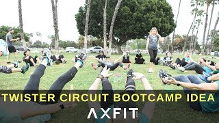 TWISTER CIRCUIT!!! Bootcamp Idea | Trainers Guide #65