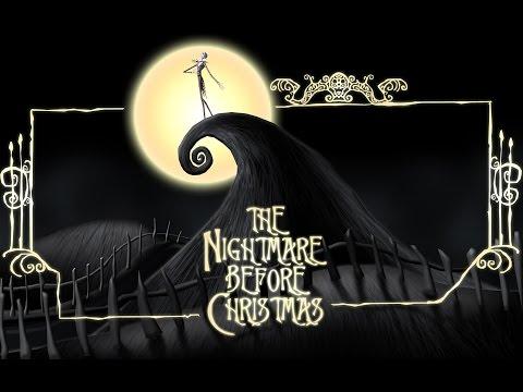 NIGHTMARE BEFORE CHRISTMAS - Jack's Lament (KARAOKE) - Instrumental with lyrics on screen
