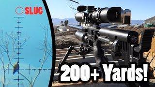 200+ Yards PCP Airgun Hunting   Pushing The Limits!