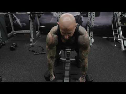 Incline Dumbbell Shrug