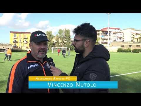 immagine di anteprima del video: BARRESE F.C. Vs Stabia Friends: 3-1 - Intervista Mister Nutolo