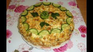 Торт закусочный рецепт Обалденный закусочный торт для праздника