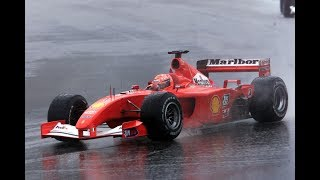 MICHAEL SCHUMACHER DANCE IN THE CHAOS OF MALAYSIA 2001