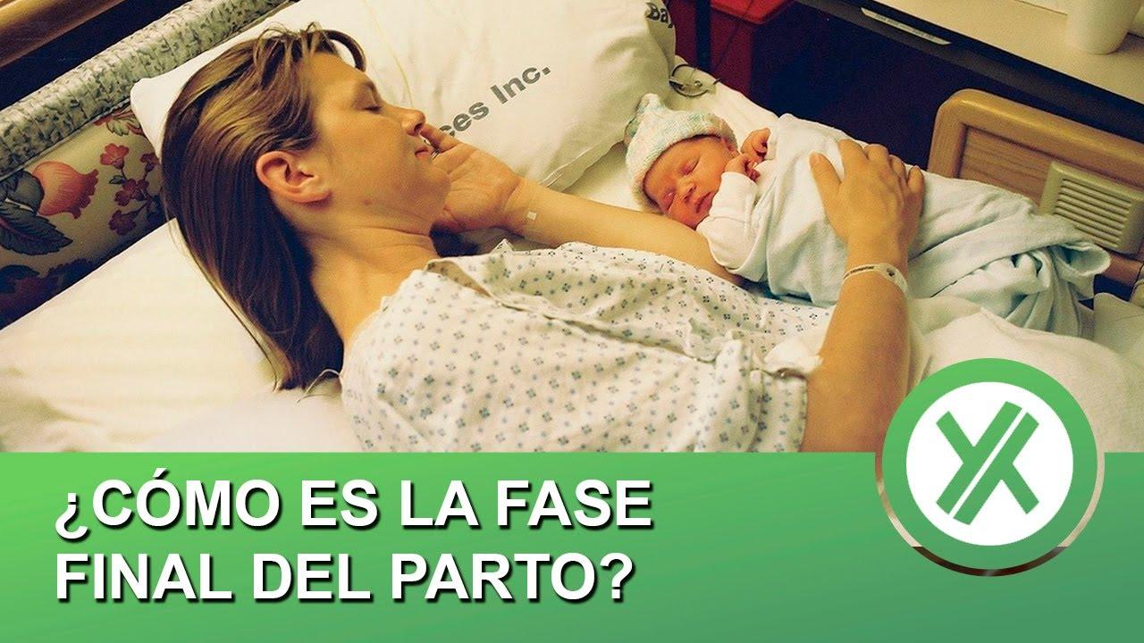 ¿Cómo es la fase final del parto? - Las fases del parto (II)