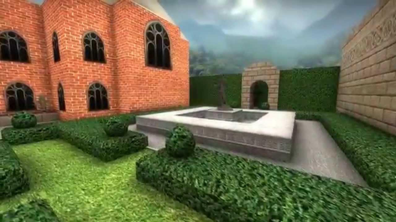 Lara Croft's Mansion Remade In Counter-Strike: Global Offensive