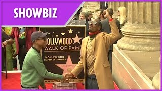 Snoop Dogg awarded Hollywood Walk of Fame star with tributes from Quincy Jones and Dr Dre