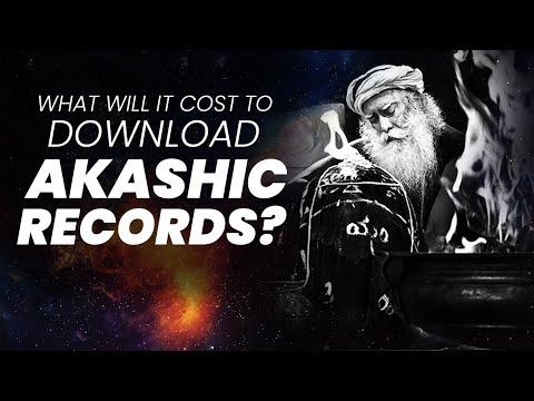 What does it take to Access Akashic Records?   Occult & Mysticism   Sadhguru   Adiyogi