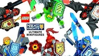 Ultimate LEGO® NEXO KNIGHTS 2016 Minifigures w/ Clay Macy Aaron Robin Beast Master & Lavaria
