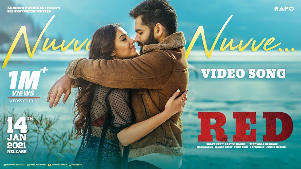 Nuvve Nuvve Video Song - RED