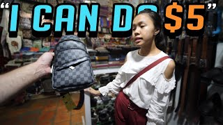 Cambodia Fake Market Spree!