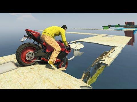 SUELO TROLL!! SE ROMPE! - CARRERA GTA V ONLINE - GTA 5 ONLINE