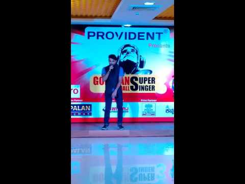 My audition round fit gopalan super singer season 3 in gopalan signature mall, bangalore.