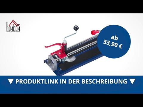 Homcom Fliesenschneider 3 In 1 Mit Lochbohrvorrichtung 600mm - direkt kaufen!