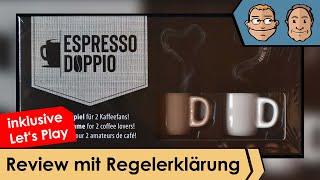 Espresso Doppio – Brettspiel – Review und Regelerklärung