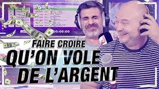 CAUET VOLE DE L'ARGENT À UN MEC QUI DEVIENT FOU !