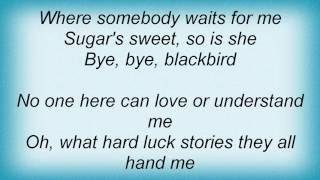 Etta Jones - Bye Bye Blackbird Lyrics