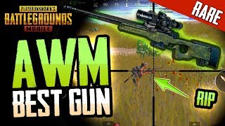 STRONGEST GUN IN PUBG Mobile - RARE CRATE-ONLY FIND
