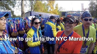 NYC Marathon Hacks: How to Get In