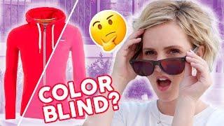 Is ELLIE COLOR BLIND? Do Color Blind Glasses WORK?