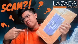 ASMR! Unboxing PHP889 Lazada Mystery Box | SULIT O SCAM?!