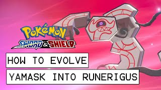 Yamask  - (Pokémon) - Pokemon Sword & Shield How To Evolve Yamask Into Runerigus (How To Get Runerigus)