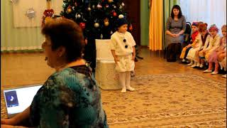 """Новогодний утренник в детском саду """"Калинка"""" г.Калуга"""