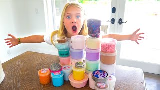 EVERLEIGH SHOWS OFF HER ULTIMATE SLIME COLLECTION!!!