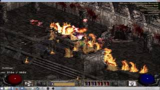 Diablo 2 LoD HC 13th Ladder Season PvM Immortal King WW Barb