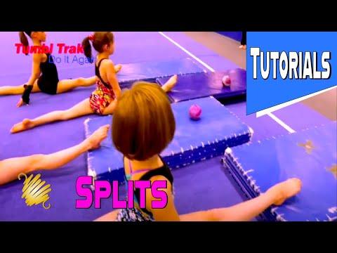 Gymnastics Trampoline Tutorial ~ How to do Proper Splits