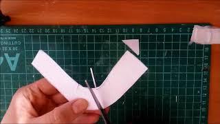 Как сделать выкройку туфельки для куклы