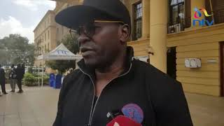 Lawyer Cliff Ombeta argues with Prof. Sihanya over missing court sessions