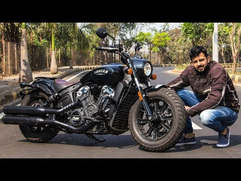 Indian Scout Bobber Review – Sexy, Naughty, Bitchy | Faisal Khan