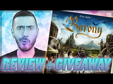 Review + GIVEAWAY - Barony and Sorcery Expansion