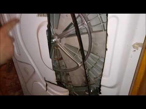 Замена ремня в стиральной машине ZANUSSI