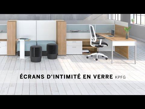 Vidéo d'installation 4 - Écrans d'intimité en verre