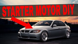 How To Replace A Starter BMW N52