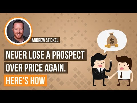 Lawyers: Never Lose a Prospect Over Price Again. Here's How
