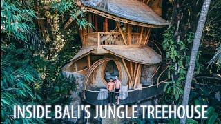 Inside Balis Bamboo TREEHOUSE Paradise