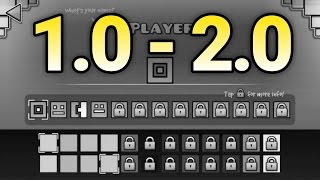 Back To History! Geometry Dash Timeline 1.0 - 2.0 Part 1/2