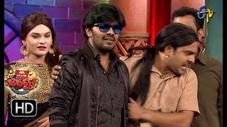 Sudigaali Sudheer Performance | Extra Jabardasth | 24th August 2018 | ETV Telugu