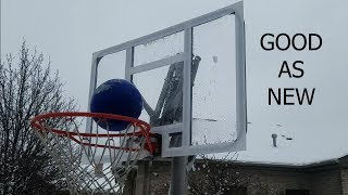 How To Fix Cracked Backboard - Cheap And Easy Fix