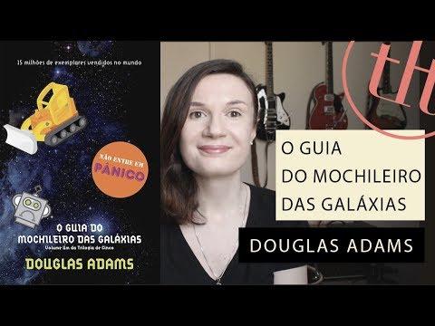 O guia do Mochileiro das Gala?xias (Douglas Adams) + Ok Computer (Radiohead) | Tatiana Feltrin