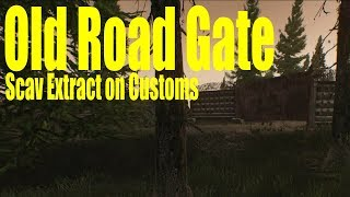 escape from tarkov customs map old road gate - 免费在线视频
