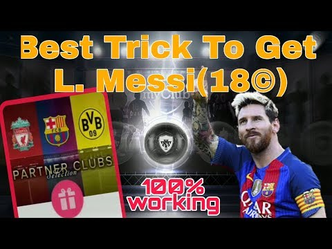 Messi Scout Combination Pes 2019