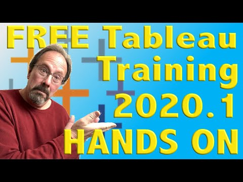 FREE Tableau Training! 2020.1 Hands On - YouTube